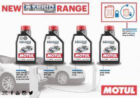 Motul lancia la prima linea di prodotti per veicoli ibridi