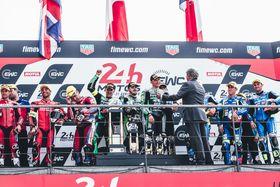 24 Heures du Mans Moto : Podiums pour les Teams Motul