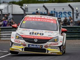 BTCC Podium for Sterling Insurance with Powermaxed Racing