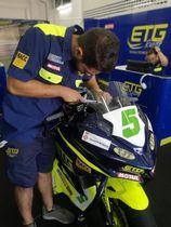 ETG Racing (Escola Tècnica Girona) en el circuito de Ricardo Tormo