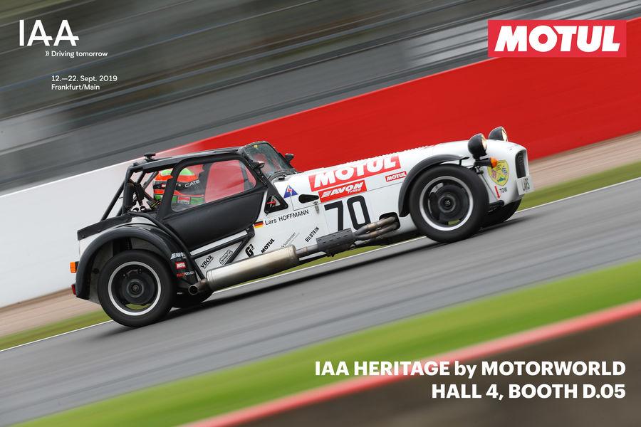 Motul auf der Sonderausstellung IAA Heritage by Motorworld