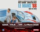 Motul salta a la gran pantalla con Le Mans '66 y sortea un viaje para esta mítica carrera