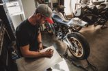 After Seven Years Building Custom Motorcycles, Max Hazan Is Already a Legend