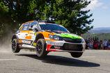 Luis Vilariño y Néstor Casal completan un titánico Rallye de Ferrol gracias al trabajo de los alumnos de Ingeniería Mecánica de la UCAV y el Race Seven
