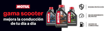 Motul Scooter Power, a linha específica de lubrificantes para motas urbanas que possui a aprovação API SN