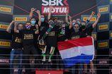 Buis pakt wereldtitel na een briljant seizoen, Meuffels wint in Estoril