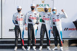 BMW TEAM POWERED BY MOTUL AUF DEM PODIUM IN DAYTONA