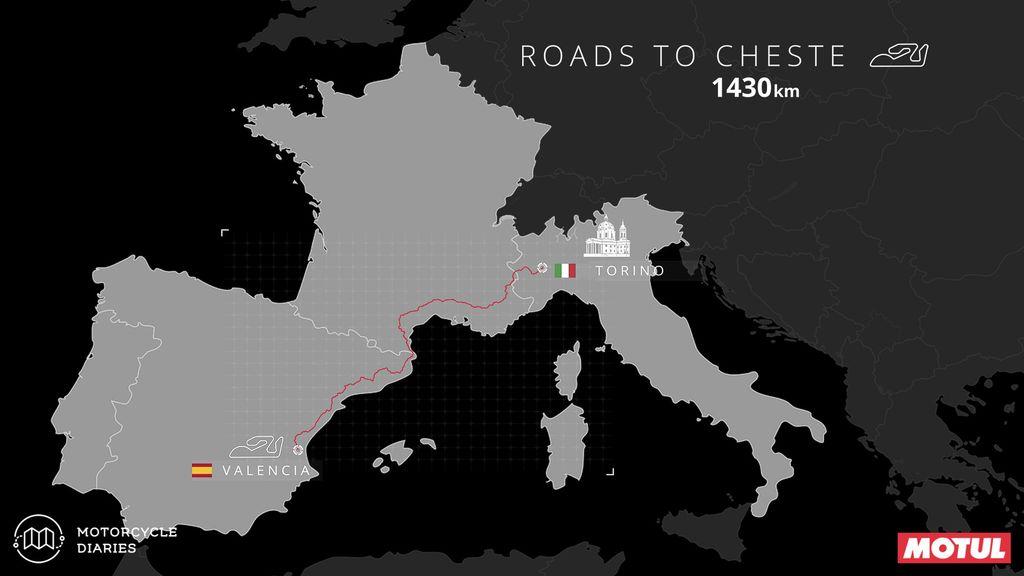 Torino to #ValenciaGP MotoGP