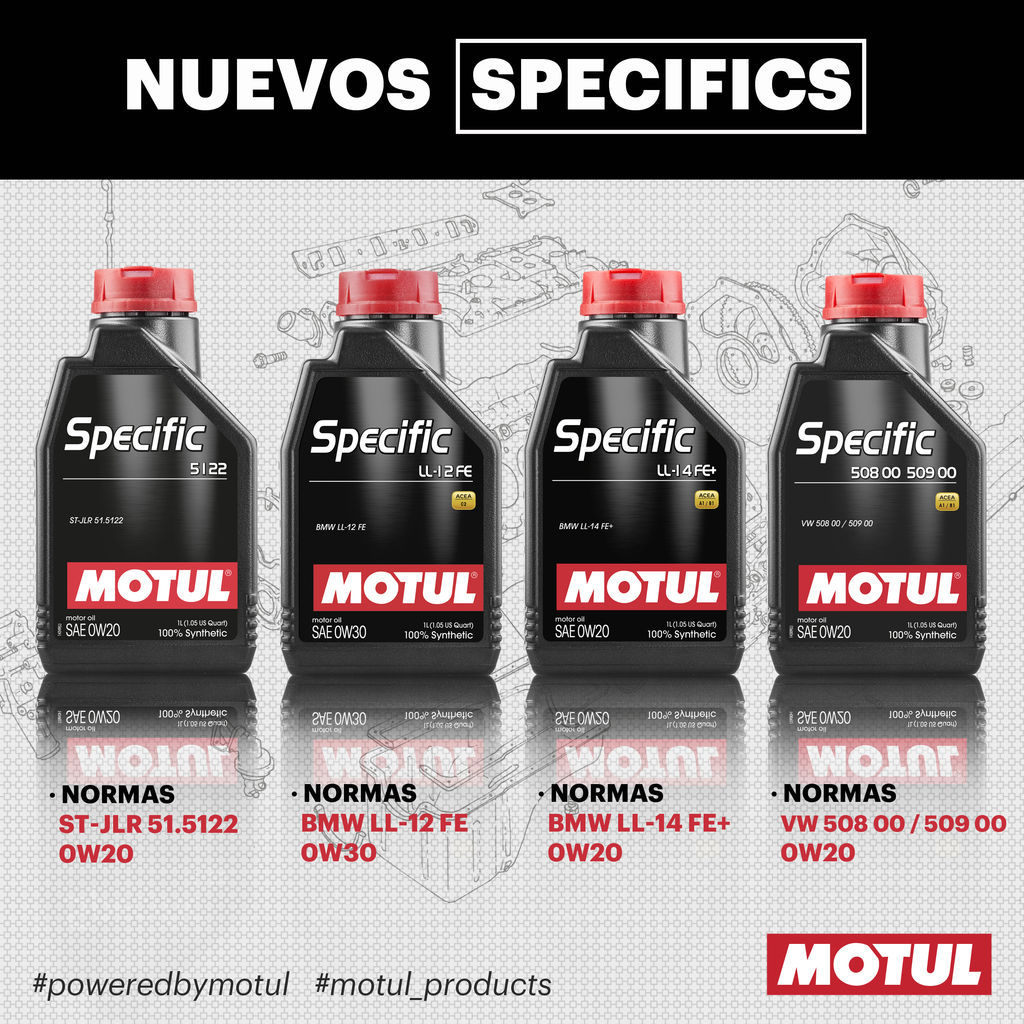 4 new specific lubricants