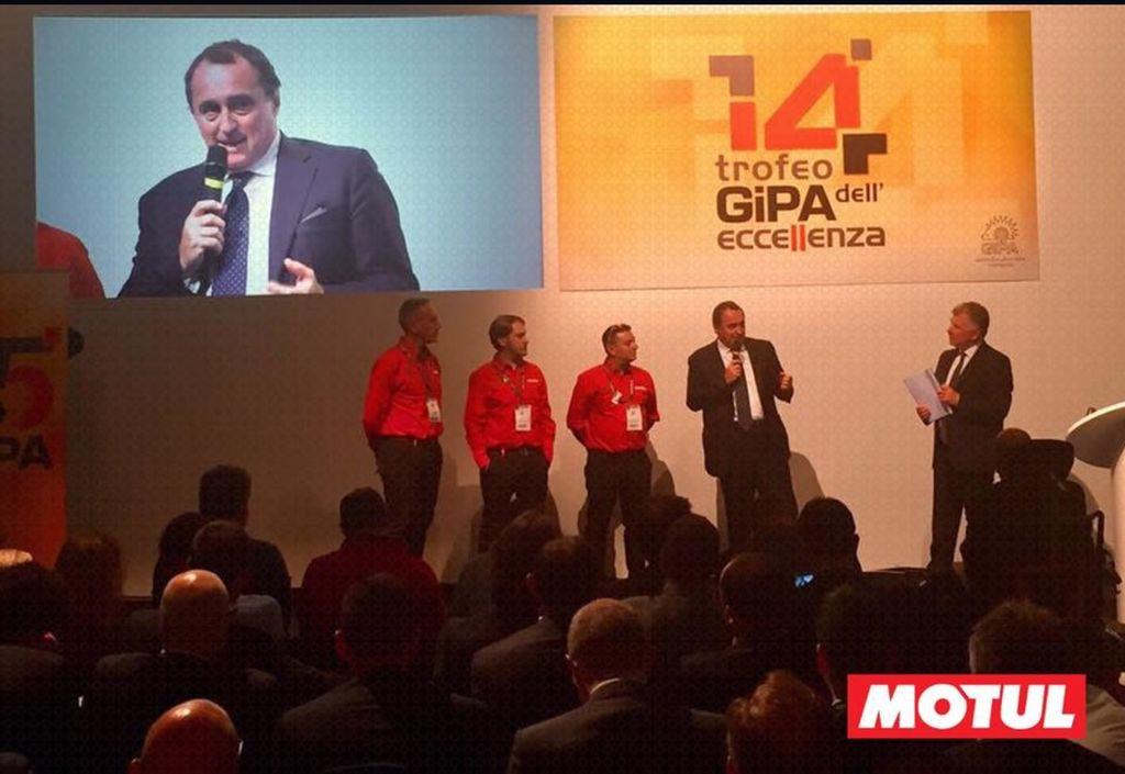 Trofeo GiPA per Motul Italia