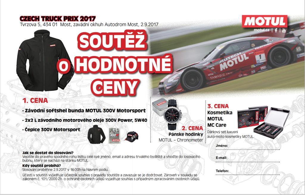 Motul na European Truck Racing Championship vMoste