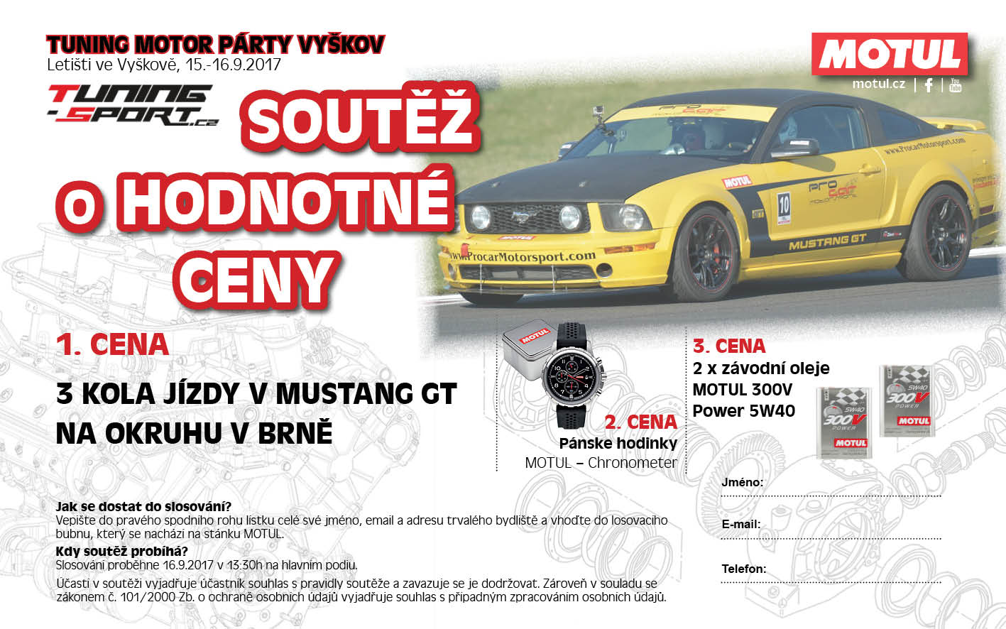 MOTUL na Tuning Motor Party Vyškov