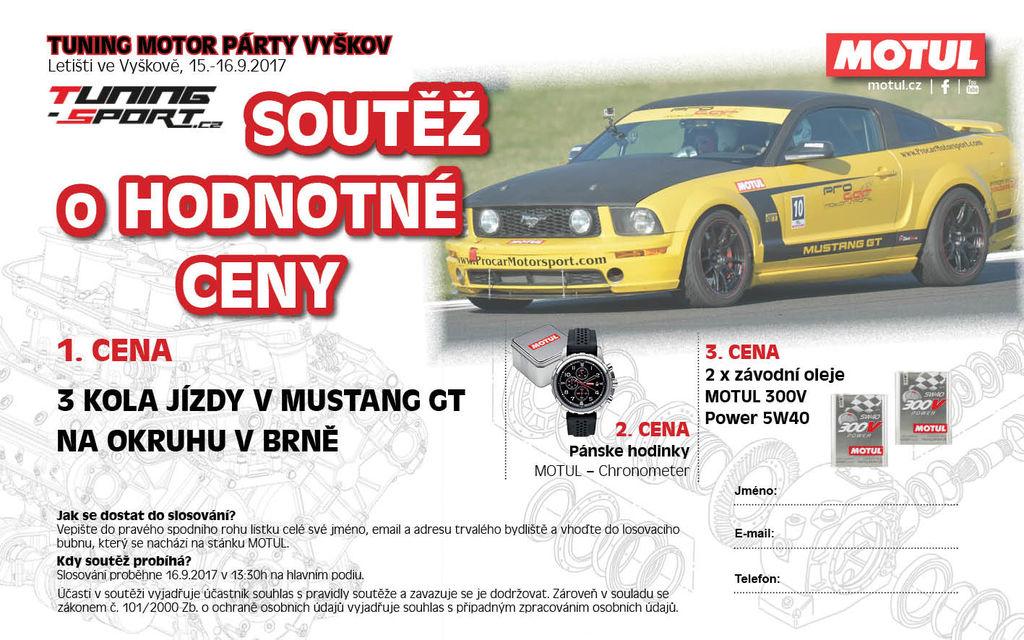 MOTUL na Tuning Motor Party Vyškov
