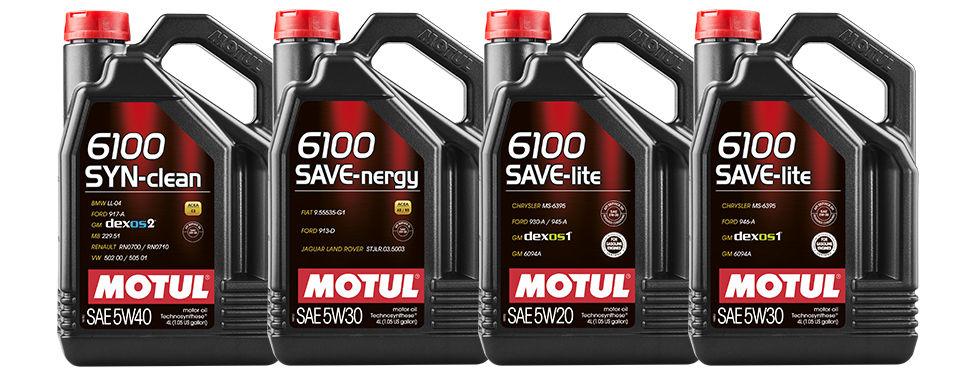 Motul выпускает новую линейку моторных масел 6100 Technosynthese®