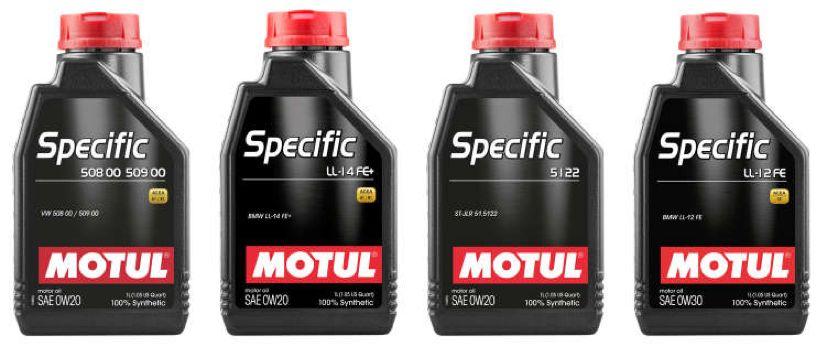 Štyri nové produkty radu Motul Specific