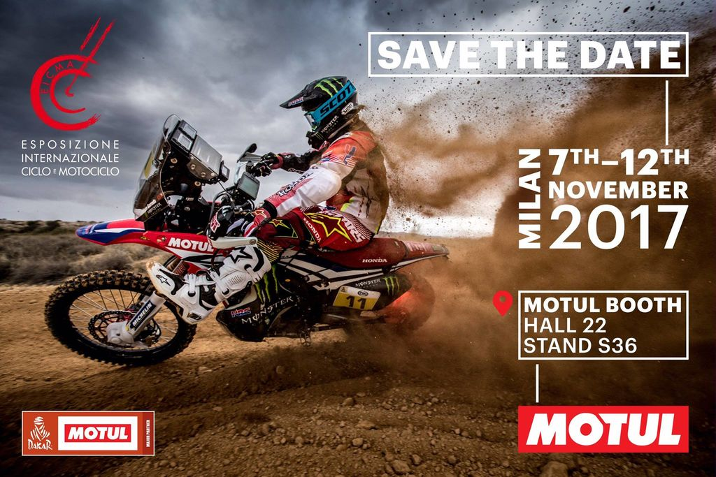 Spotlight on Motul at EICMA 2017