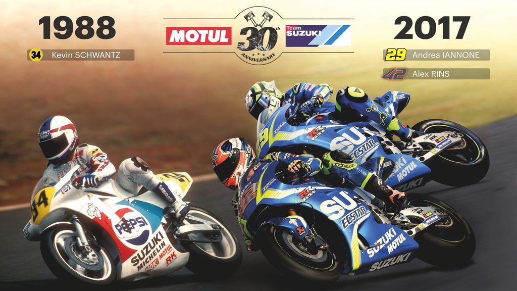 Motul a Suzuki oslavujú 30 výročie spolupráce v MotoGP