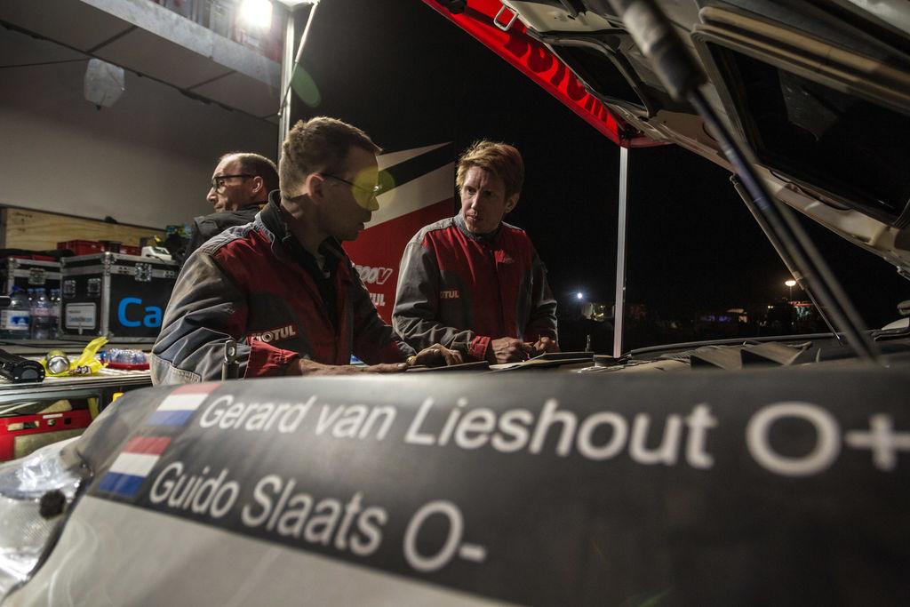 Lange dag voor Van Lieshout en Slaats door 'eigenlijk niks' (04.01.)