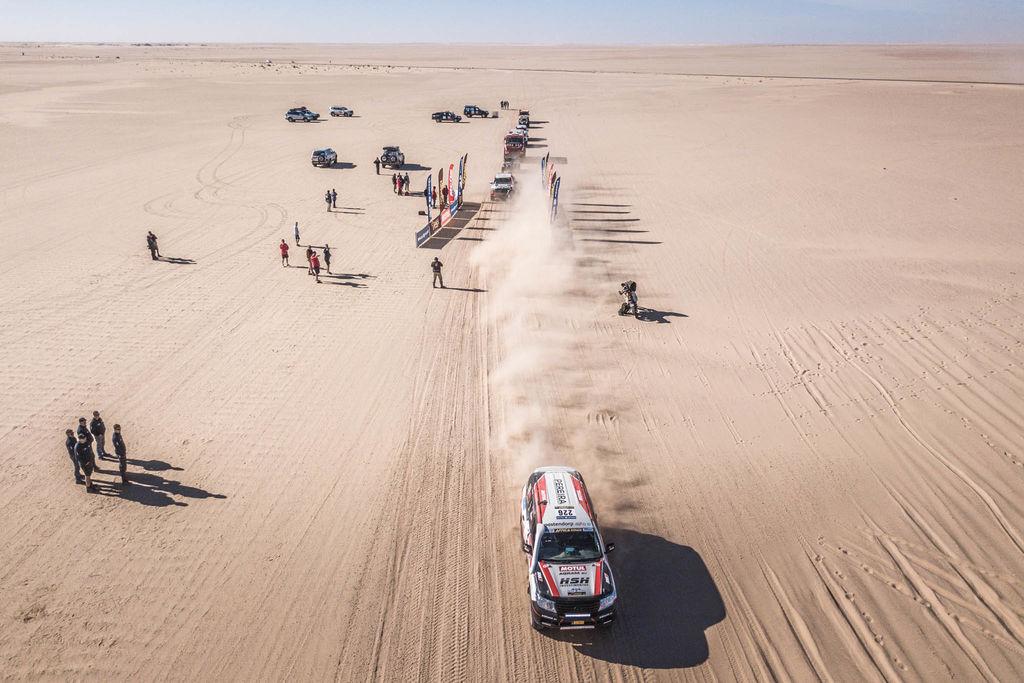 Van Lieshout en Slaats aan het dwalen in Mauretanië (10.01.)