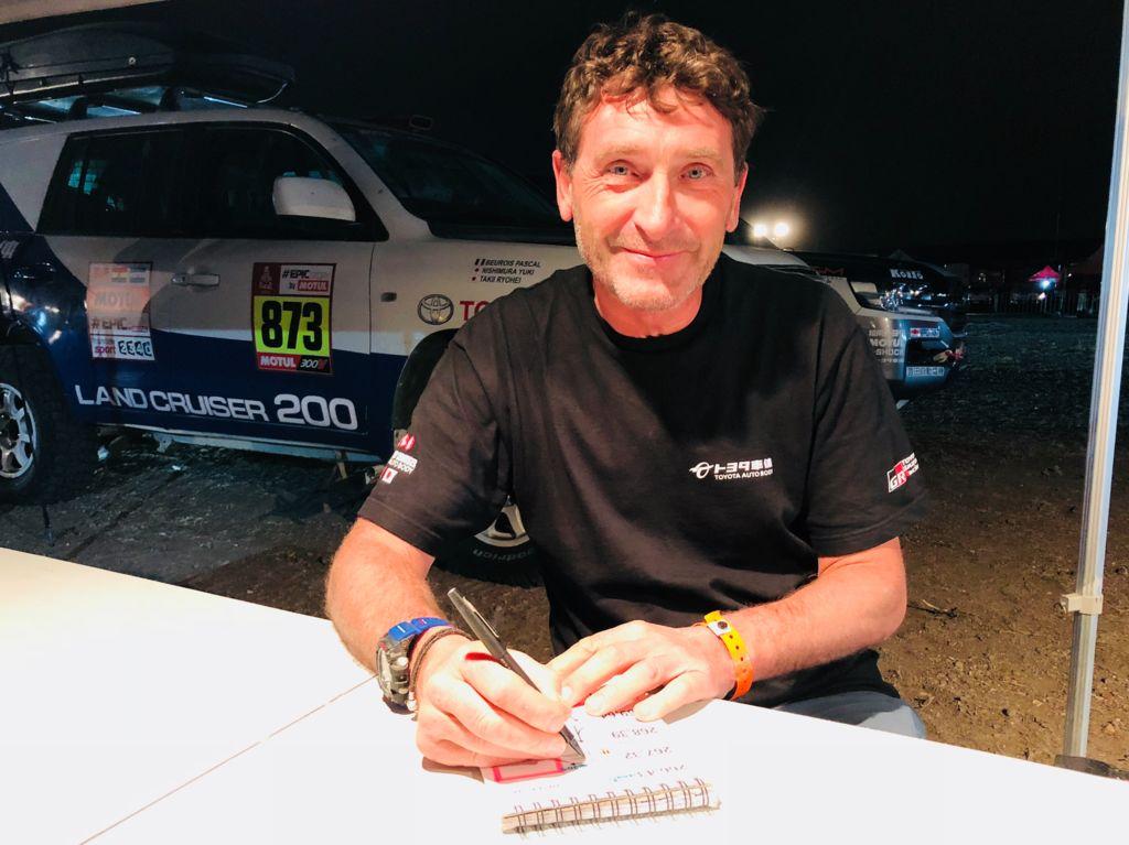 Jean-Pierre Garcin - Minha história no Dakar