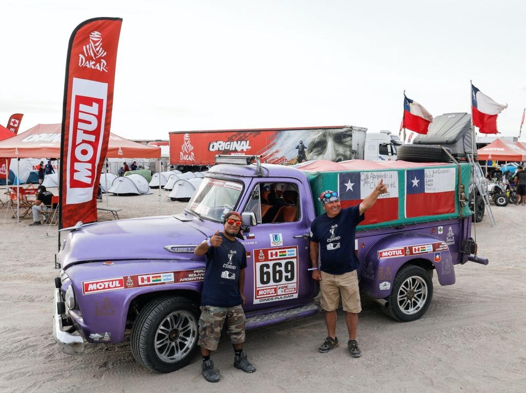 Gines PULGAR - My Dakar Story