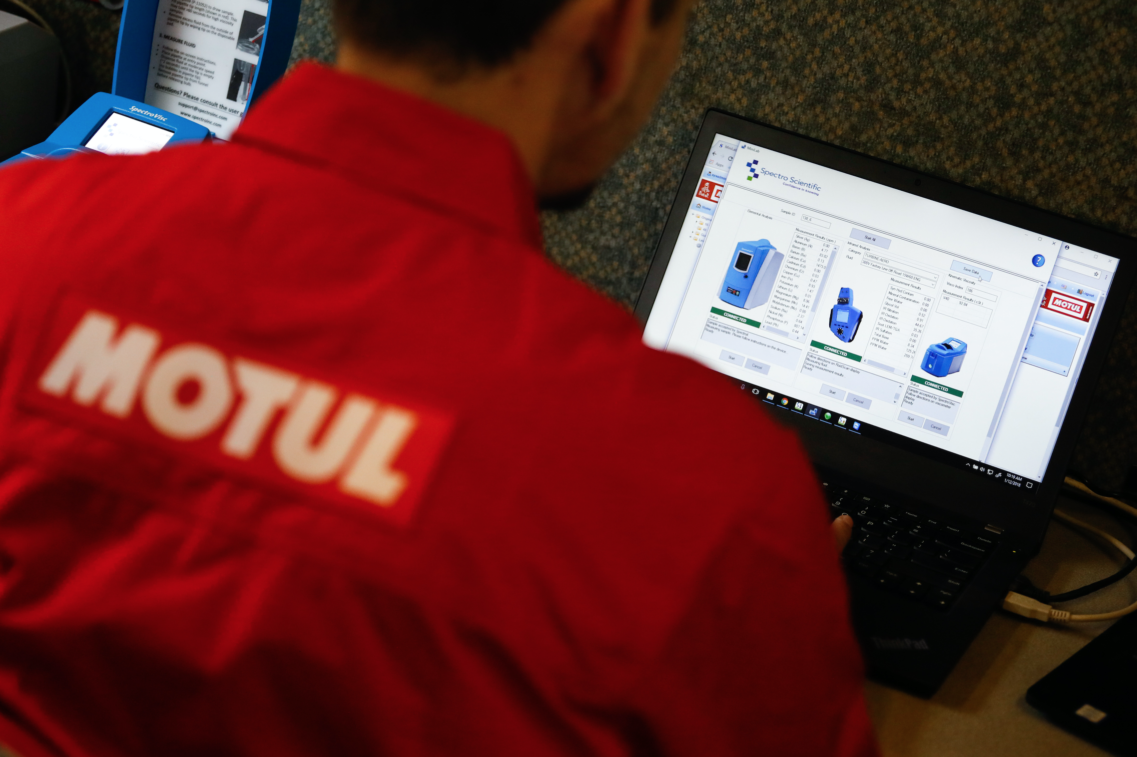 What is the Motul Racing Lab?