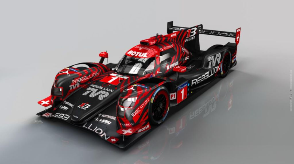 TVR s'associe à Motul et Rebellion Racing