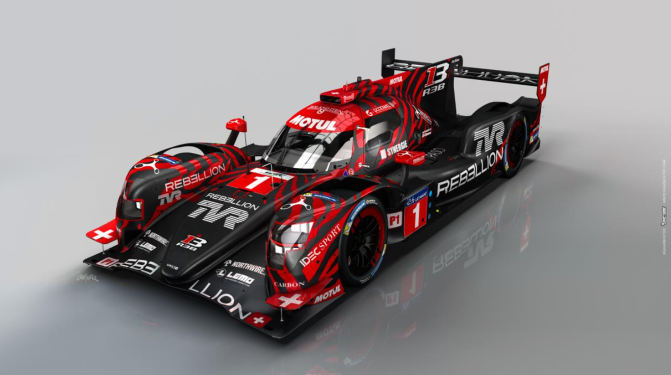 TVR joins forces with Motul and Rebellion Racing
