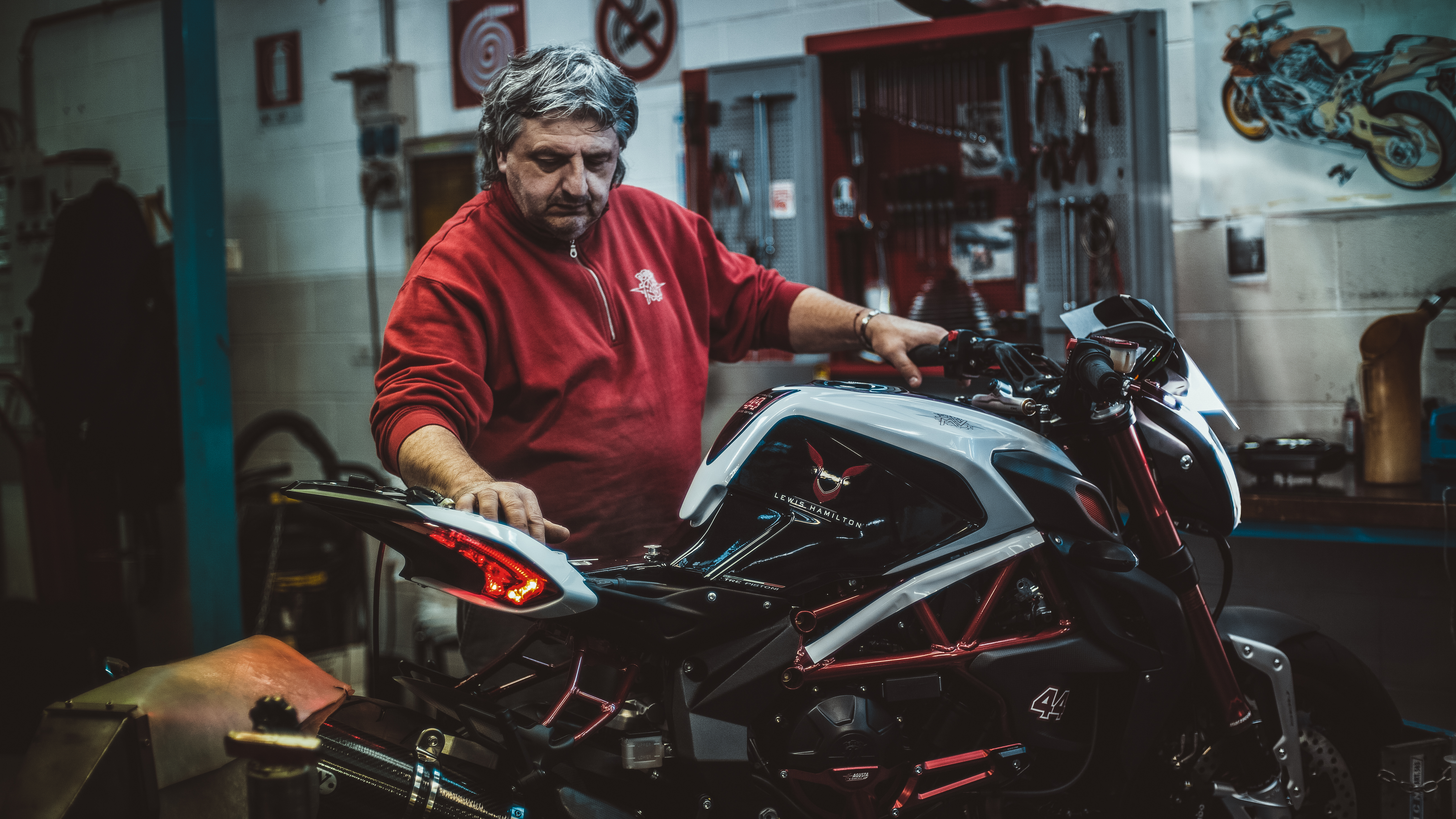MV AGUSTA AND MOTUL: IT'S NOT ABOUT THE DESTINATION; IT'S ALL ABOUT THE JOURNEY.
