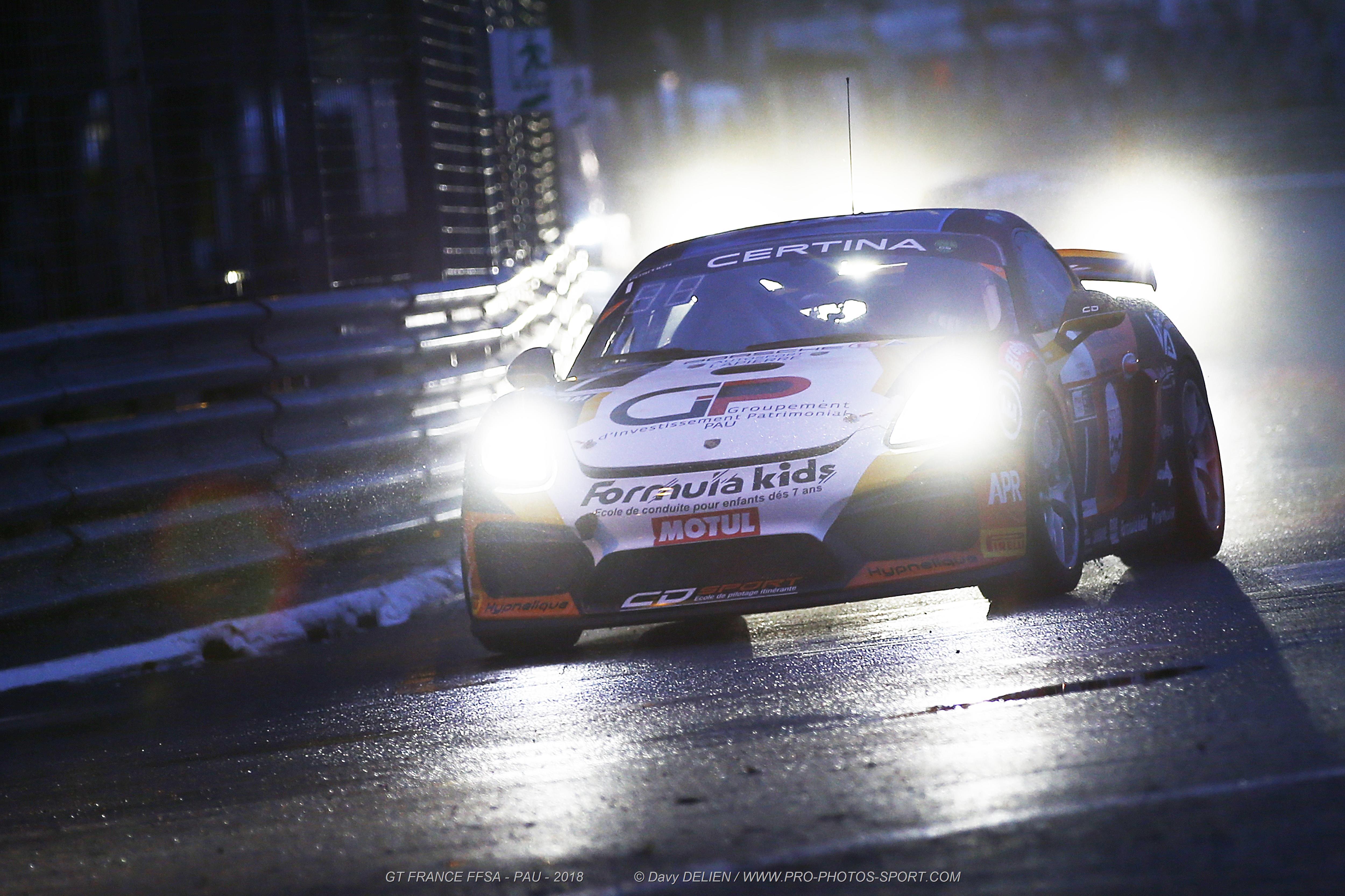La magie du Grand Prix de Pau de jour, de nuit et sous la pluie !