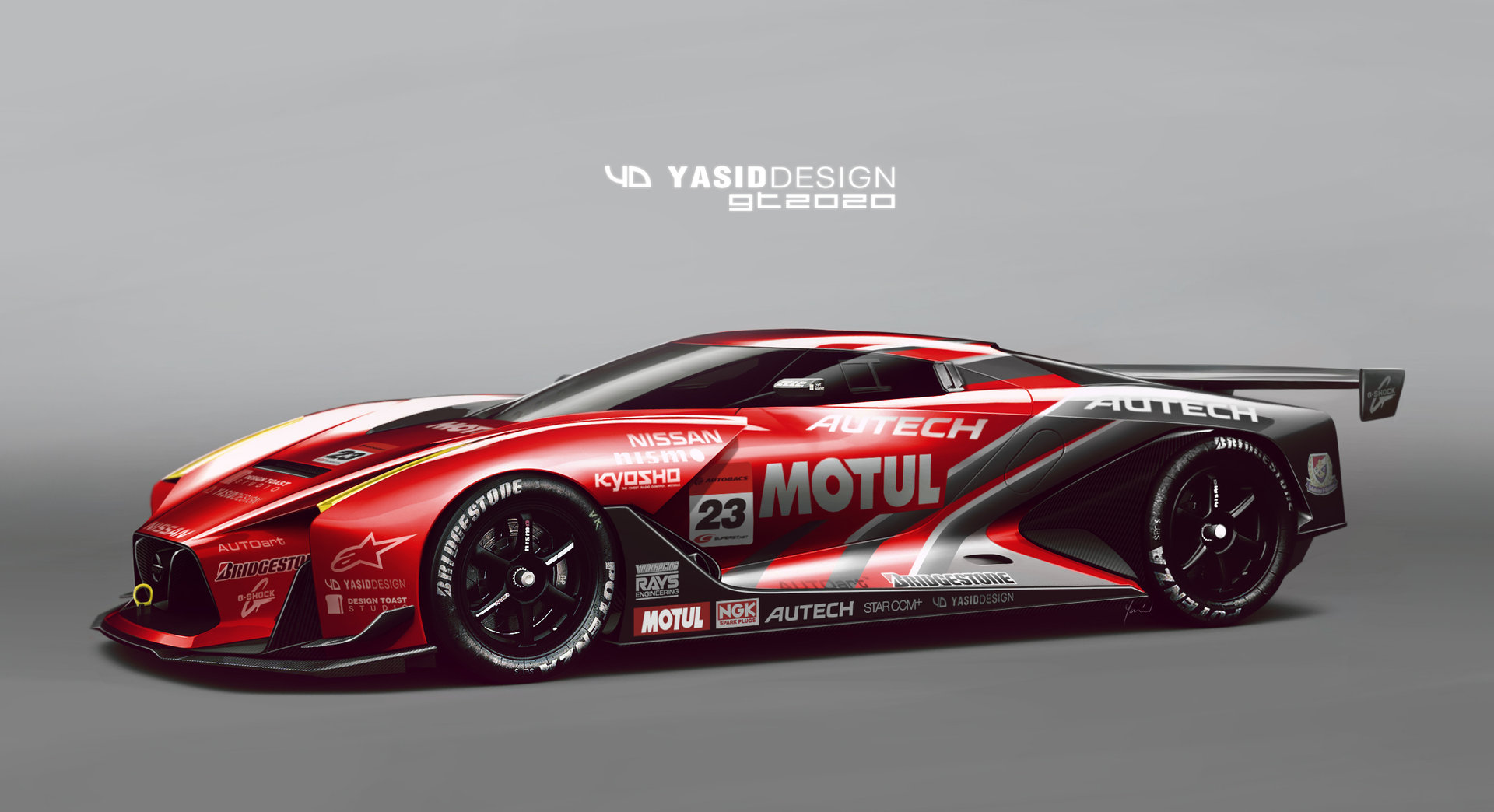 As children, many of us get a kick out of drawing cars. Most kids eventually grow out of it. But not Yasid Oozeear: he's still at his desk drawing cars, albeit for his own automotive design studio, Yasid Design.