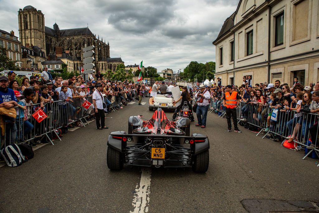 BAC Mono Parades at Le Mans