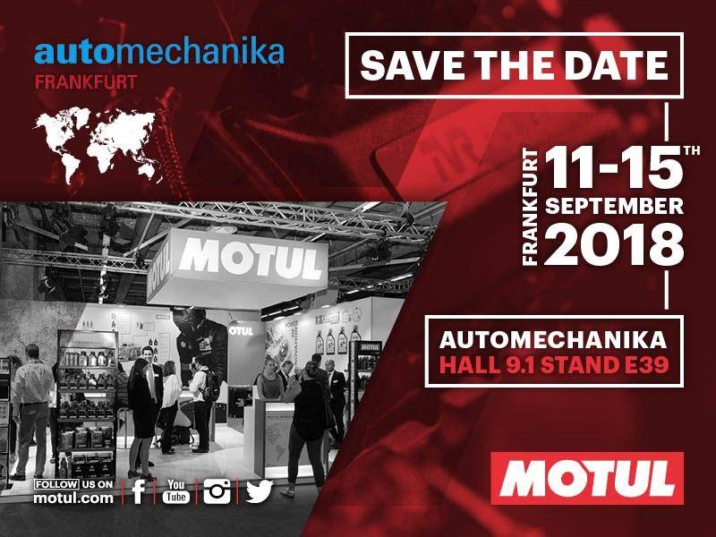 Motul lanzará un nuevo producto de la línea híbrido con el concepto Garage, en  Automechanika 2018.