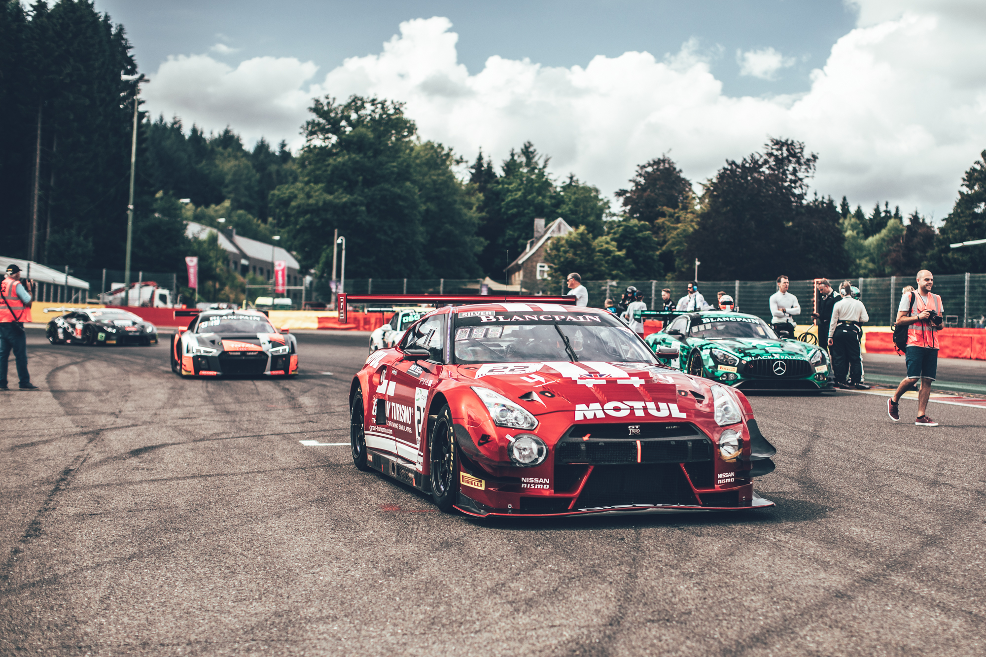 24 Hours of Spa: Embedded with the Nissan squad.