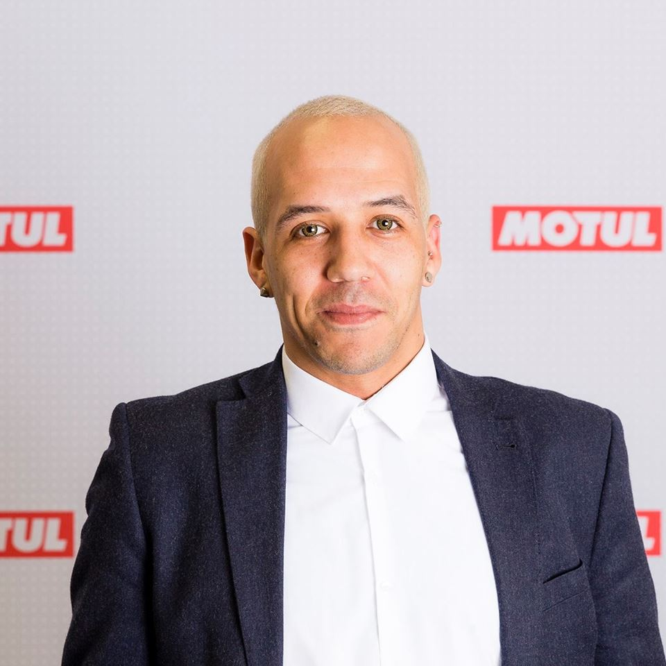 Charles Turner, Motul's group digital brand manager and the master brain behind the Superfan Community