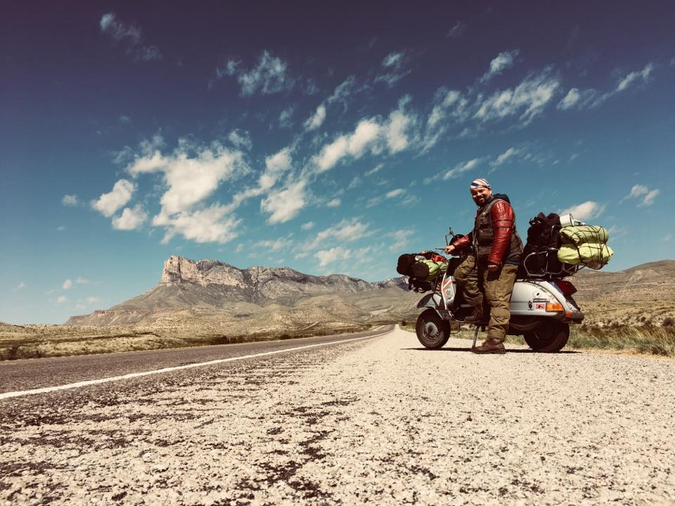 Markus Mayer: A Vespa can do more than you think.