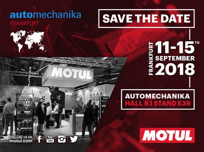 Motul ad Automechanika 2018