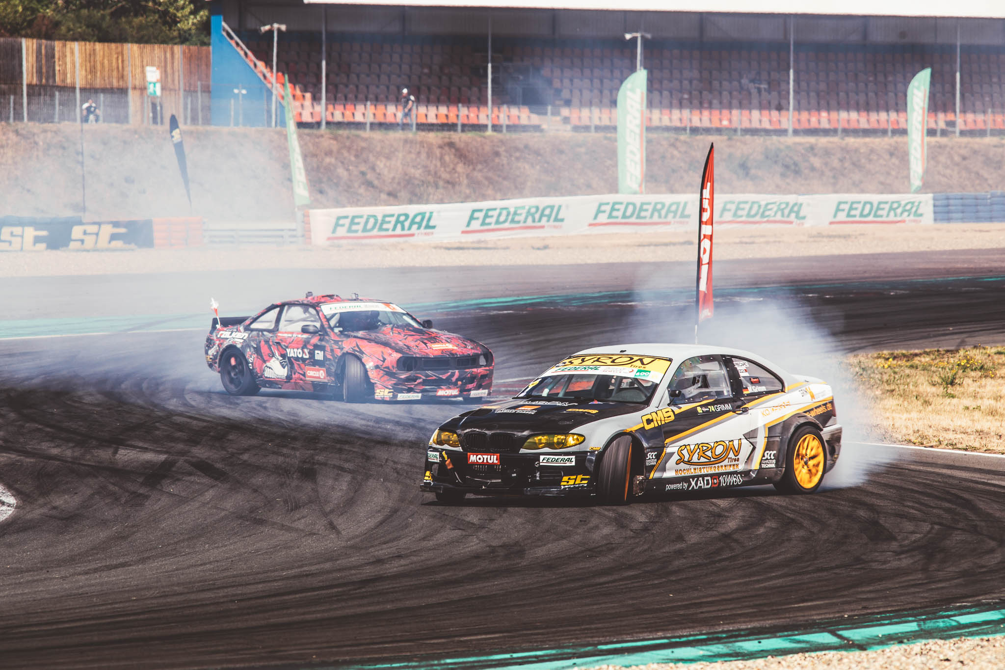 Drifting might be one of the most popular motorsports in Europe. Why do you think it's so popular?