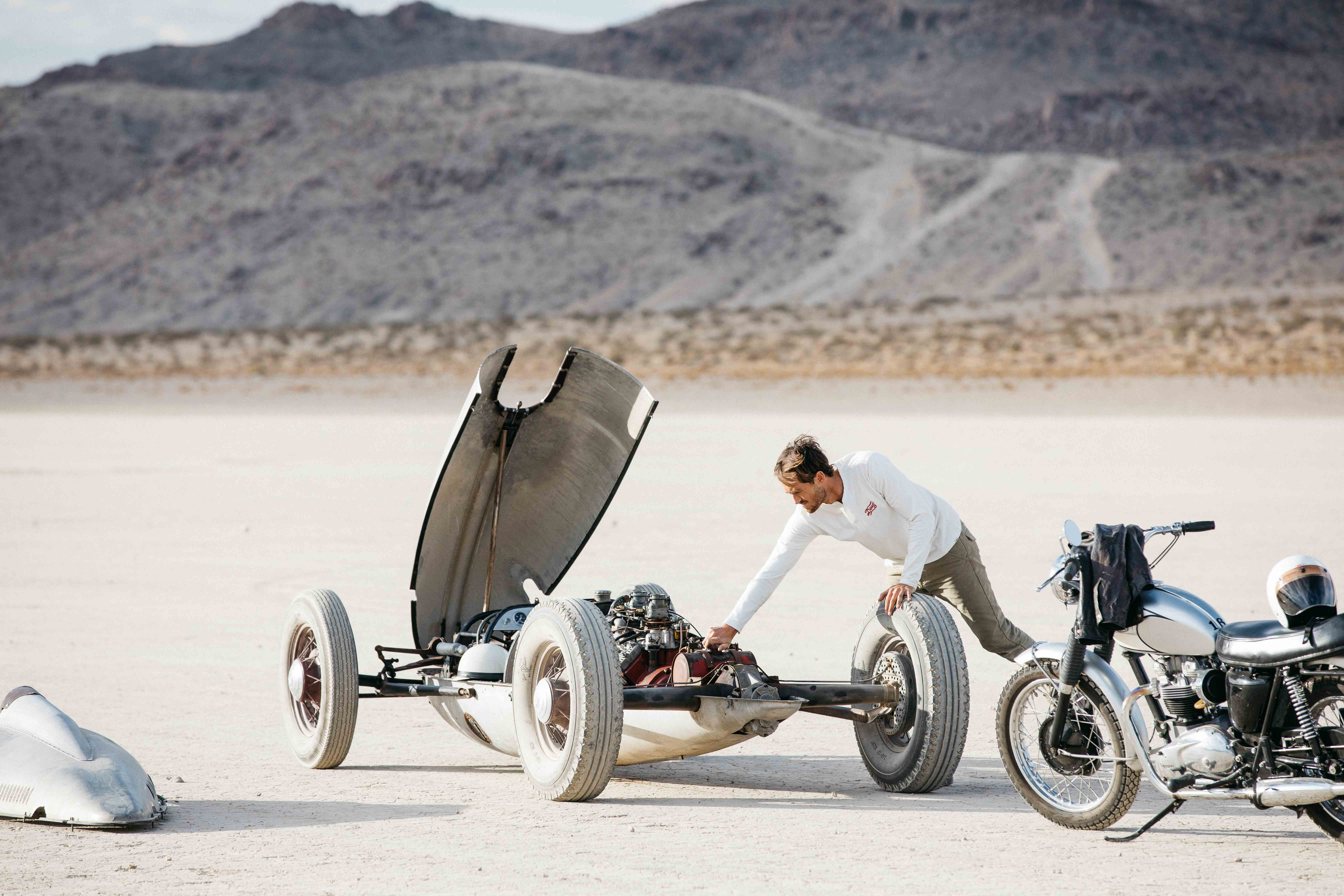 You've been doing automotive work for a very long time. How did you team up with Deus to make your last film, 'Extremity'?
