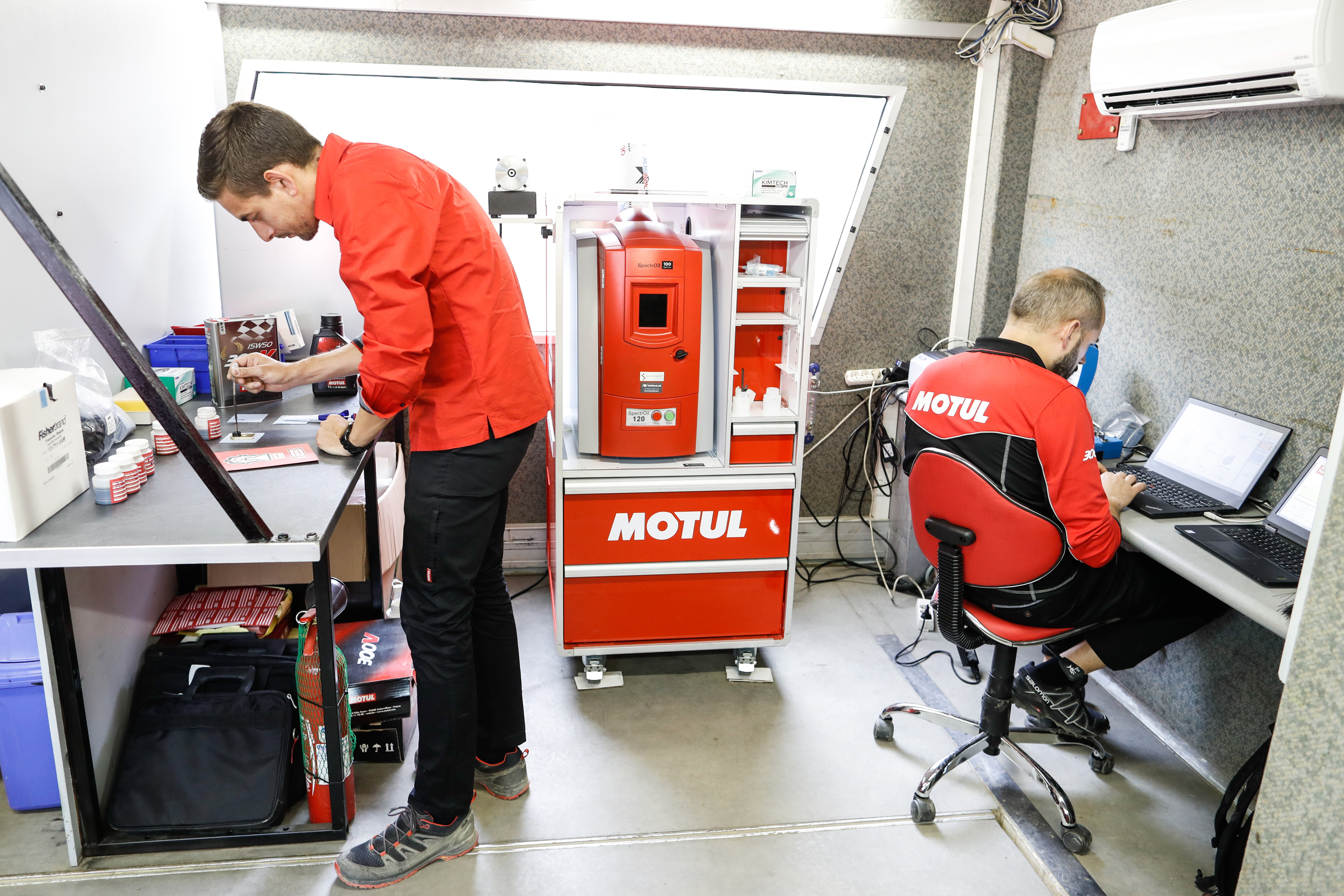Joseph, can you introduce yourself? What's your profession at Motul?