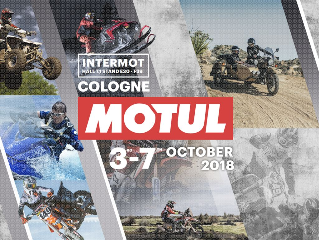Rallye-Lifestyle und Powersports – auf der Intermot 2018 entführt Motul in eine atemberaubende Welt rund ums Motorrad