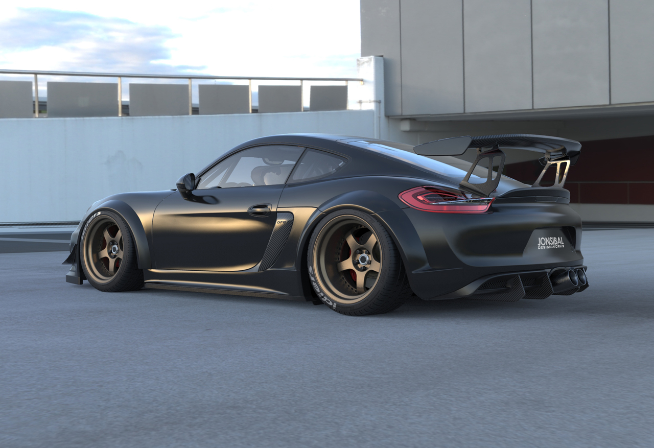 You drive a RWB 911, right? Is that a movement which assimilates your personal design style?