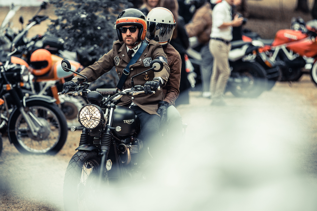 The Distinguished Gentlemen's ride: tweed and choppers for men's health.