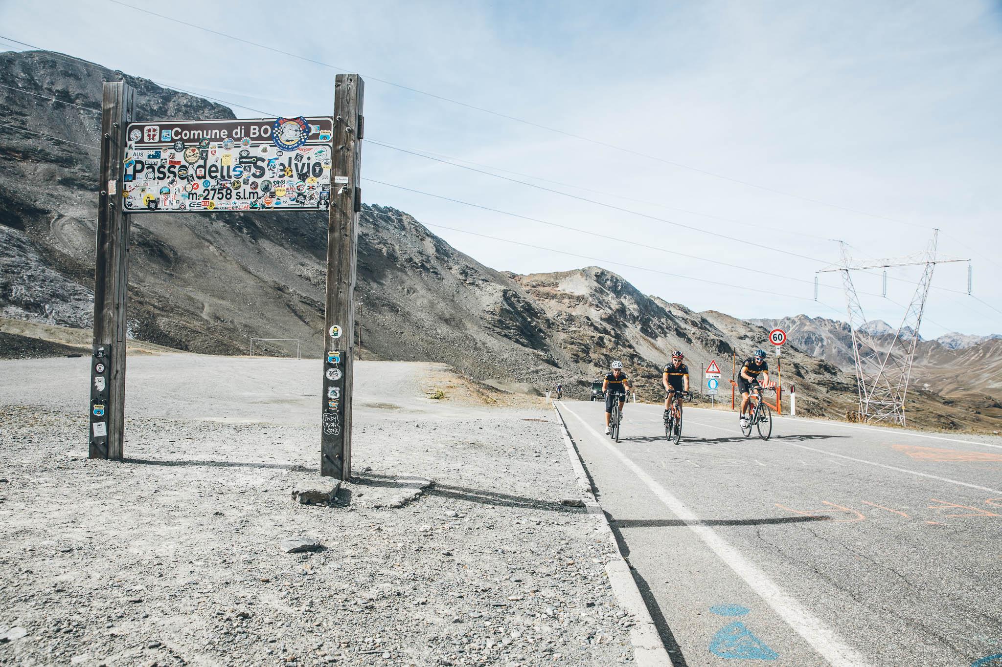Motul roads: The Stelvio Pass