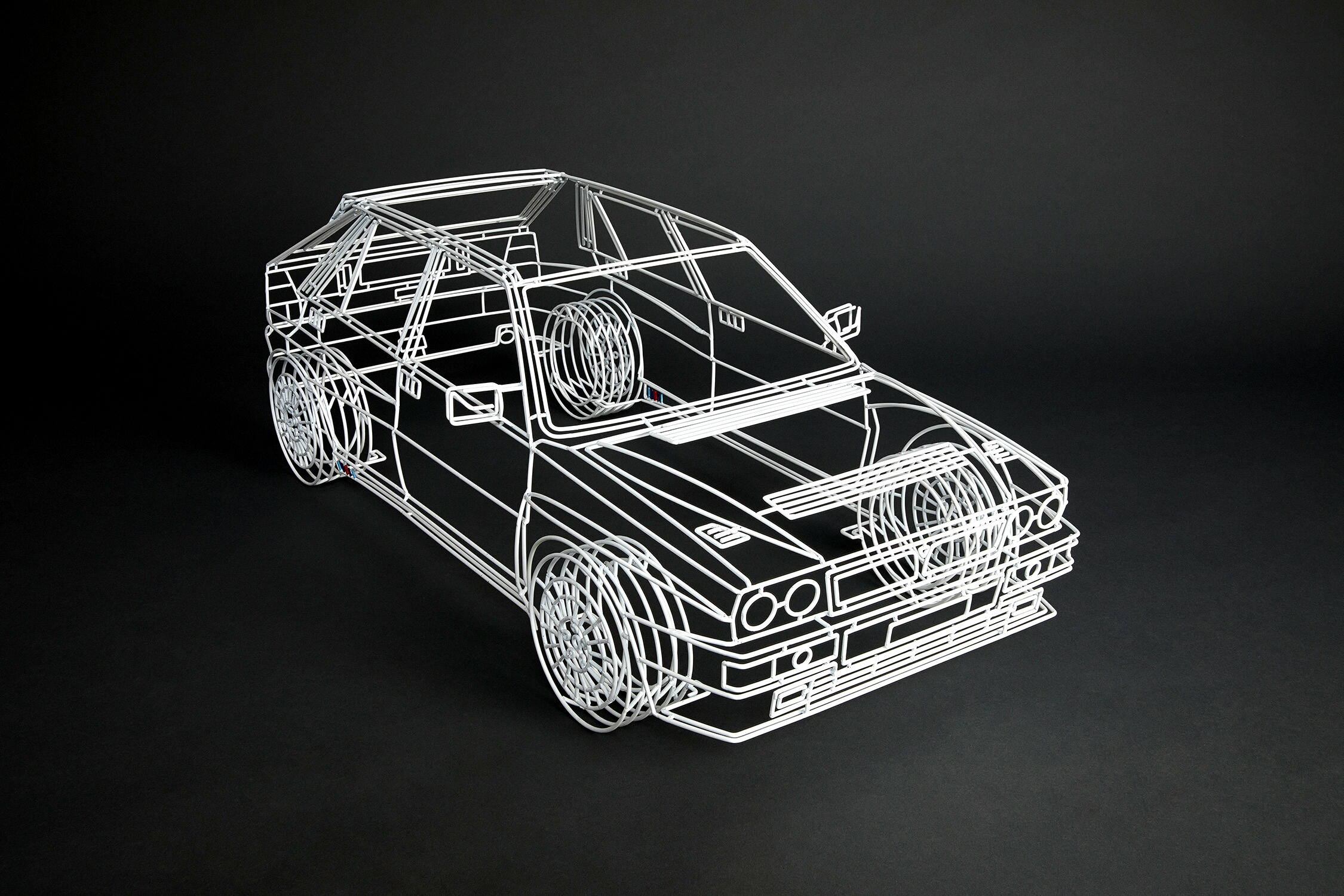 You've also been doing other projects besides the cars, such as a skate bowl and a double ended VW Golf IV? Are you broadening your scope with this?