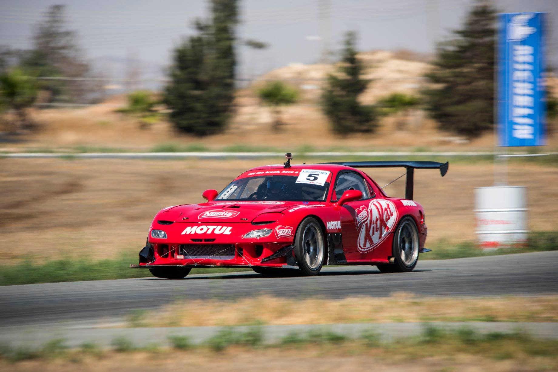 The RX7 looks like the perfect drift car, is that something you would consider pursuing?