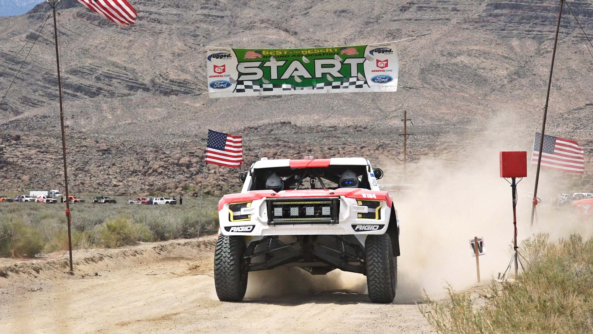 OTSFF OFF-ROAD HAMMERS ITS WAY THROUGH FROM VEGAS TO RENO