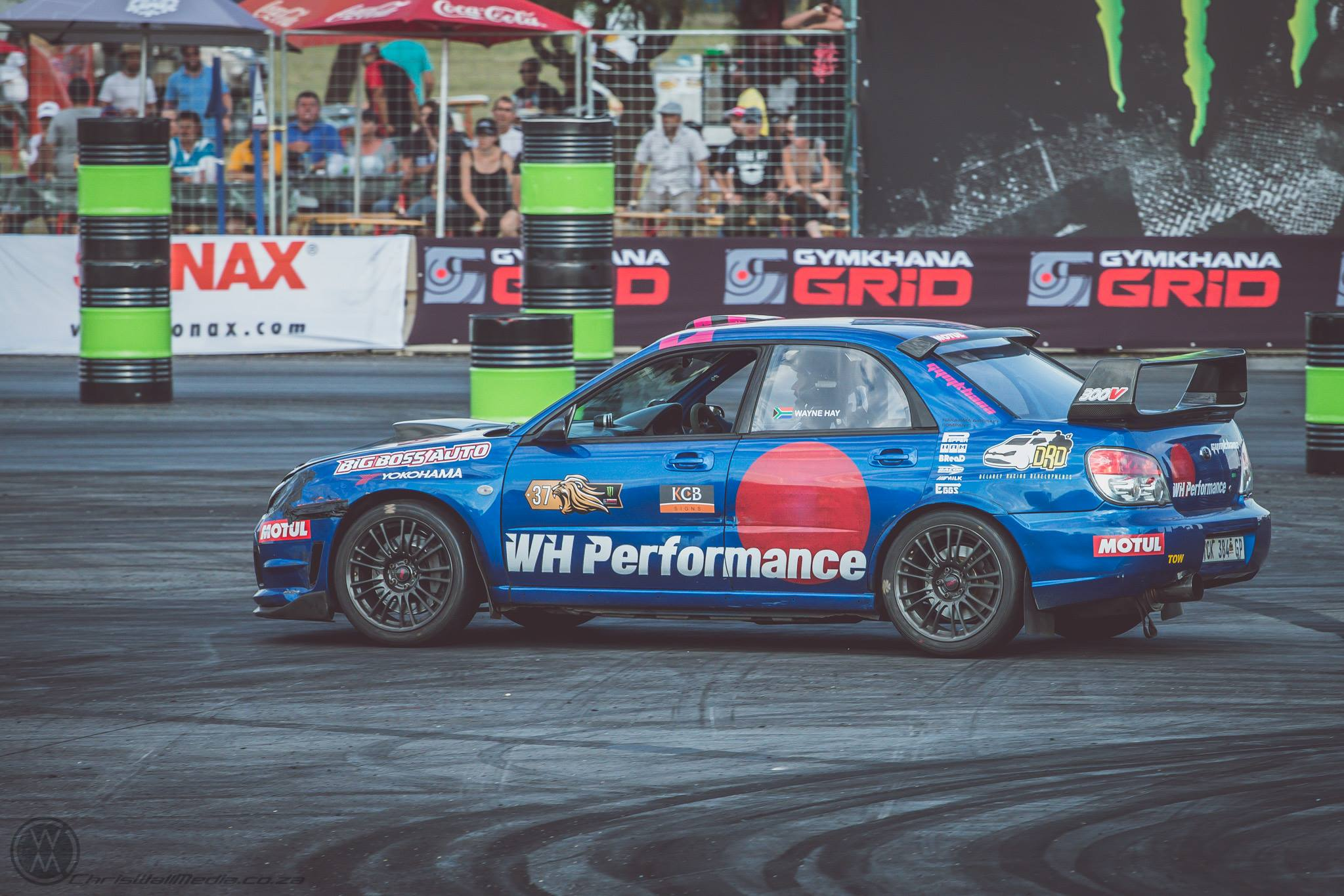 GYMKHANA GRID: SOUTH AFRICAN DRIVERS DEFENDING LOCAL HONOURS