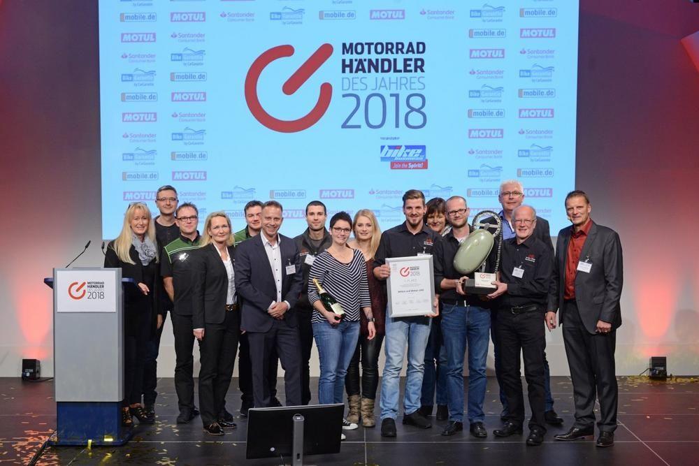 """Witten und Weber holt sich renommierten """"bike und business"""" Award"""
