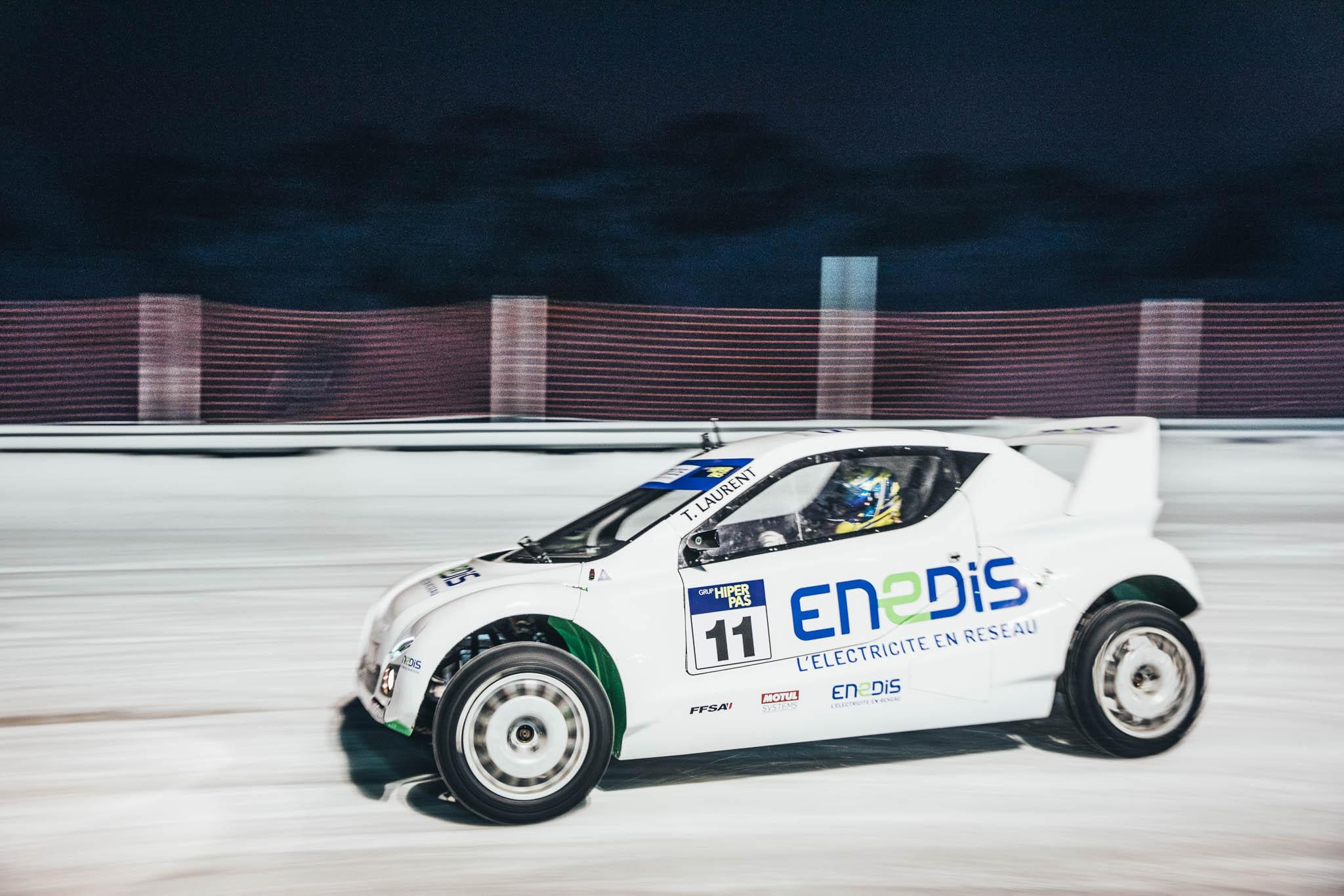 Pour Thomas Laurent, la course sur glace ressemble un peu à une danse.